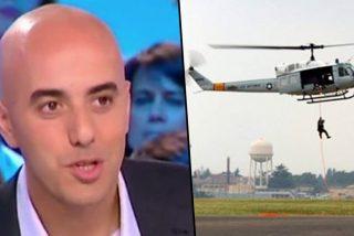 ¡Como en las películas!: Este ladrón escapa en helicóptero de una cárcel francesa