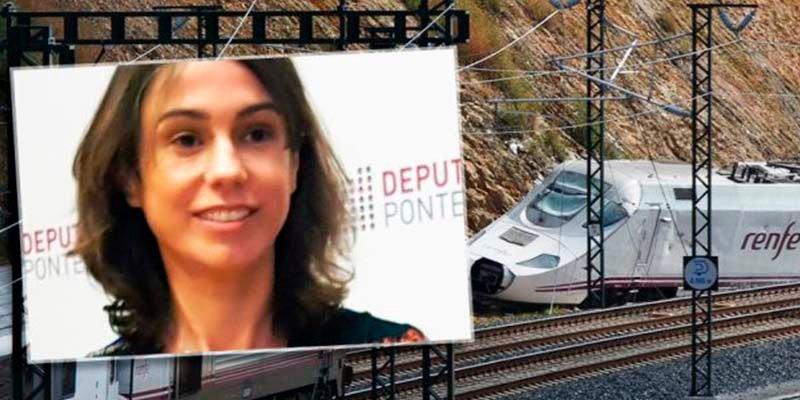 Isabel Pardo de Vera, la nueva presidenta de Adif, dirigió la obra del tramo de Angrois en el que murieron 80 pasajeros
