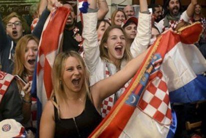Croacia perdió la final, pero no la alegría