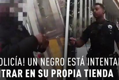 Afroamericano es denunciado a la Policía por abrir su propia tienda con su propia llave