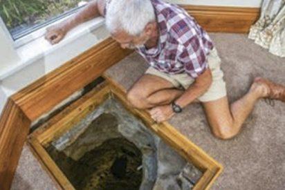 Este hombre encontró hace 30 años un pozo en su casa, ahora excava para saber qué misterio esconde