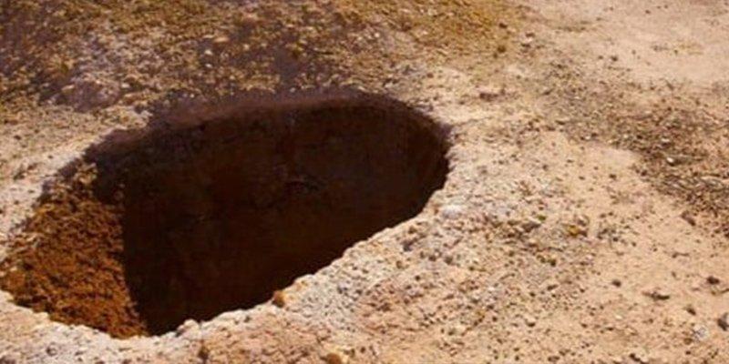 ¿Sabías que desde 1915, los humanos han vivido dentro de este agujero?