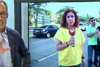 Bochorno en 'Espejo Público': la reportera le mete el micrófono a la derrumbada madre a la que le acaban de matar a su hijo