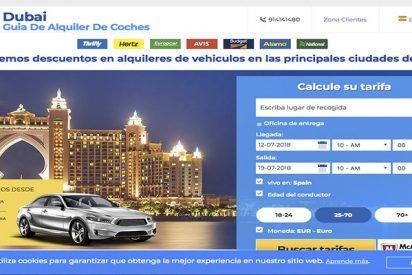 Alquilar coches en Dubai