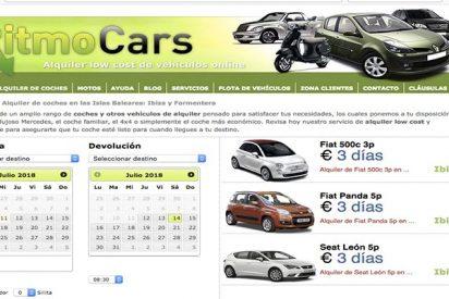 Alquiler de coches en Ibiza y Formentera