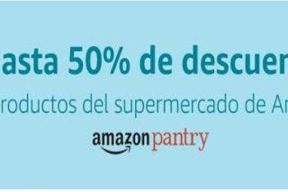 Amazon pantry descuentos