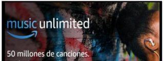 Amazon Music Unlimited 4 meses de música por 0,99 €