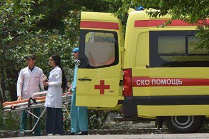 Publican el video del asesinato de varios turistas extranjeros en Tayikistán