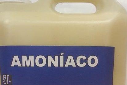 """¿Sabías que mezclar el amoniaco con otros productos de limpieza puede generar reacciones químicas """"muy tóxicas""""?"""