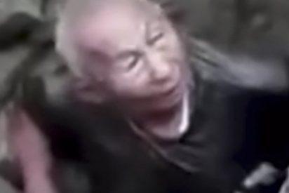 Este anciano de 80 años es tragado repentinamente por la tierra