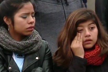Así lloran los aficionados argentinos por la eliminación de su selección