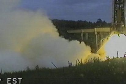 Así probó la ESA el acelerador de combustible sólido de Ariane 6