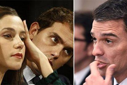 Arrimadas le enchufa a Sánchez una andanada gloriosa por culpa del 'resucitado' Puigdemont