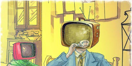 Chiste: el del cenutrio y la audiencia de televisión