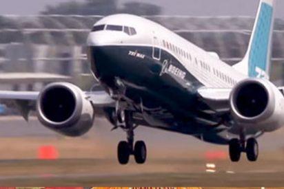 Este avión de pasajeros de Boeing despega casi verticalmente
