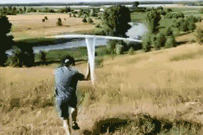¿Quieres aprender a hacer un avioncito de papel...de tres metros?, te enseñamos cómo