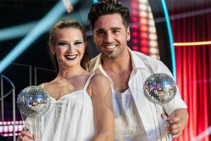 David Bustamante y Yana Olina ganan de 'Bailando con las estrellas'
