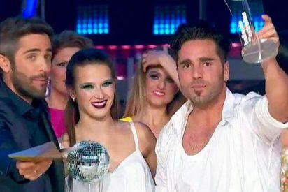 Bustamante y Yana Olina, se proclaman vencedores de ' Bailando con las estrellas' con mensaje a Telecinco