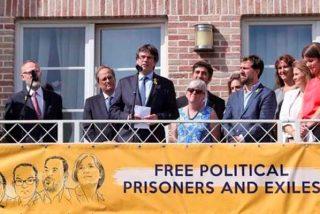 Aquelarre separatista en Waterloo: la banda de Puigdemont afirma que en año y medio Cataluña será miembro de la ONU