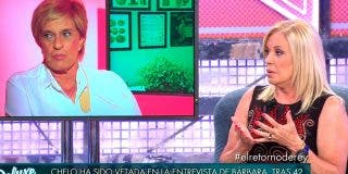 Bárbara Rey no perdona la traición de Chelo Gª Cortés y la humilla vetándola en 'Sábado Deluxe'