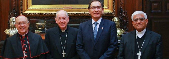 Los obispos peruanos denuncian ante el presidente la corrupción en el poder judicial