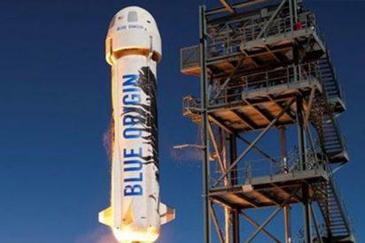 Blue Origin lanza con éxito su cohete New Shepard, diseñado para turismo espacial