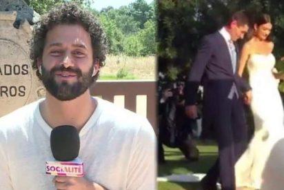 'Socialité' le revienta a Diego Matamoros el negocio que tenía montado con la exclusiva de su boda