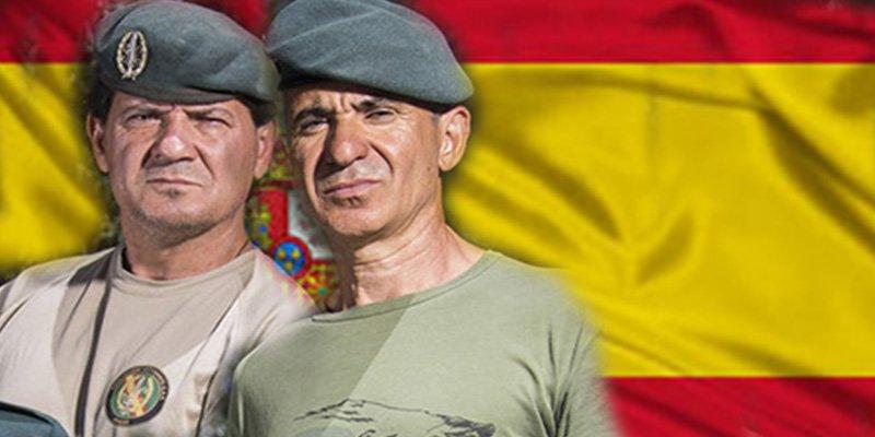 Guardia Civil: Los boinas verdes para los que piden 30.000 euros de multa por enterrar, uniformados, a un compañero