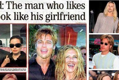 ¿Te has dado cuenta de que Brad Pitt siempre se parece a la mujer con la que está saliendo?