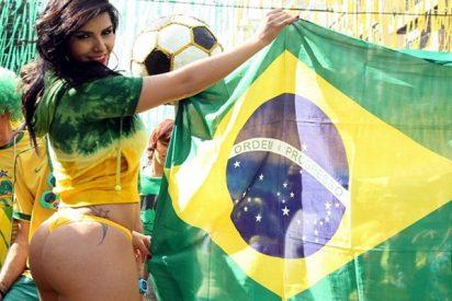 Así fue el carnaval brasileño en Samara antes del partido Brasil-México