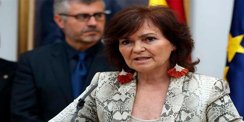 """Humillan a Carmen Calvo por """"las putas"""" del PSOE-A sin 'consentimiento expreso'"""