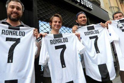 La Juventus ya ha recuperado con la venta de camisetas en un sólo día el 50% de inversión hecha en la compra de CR7