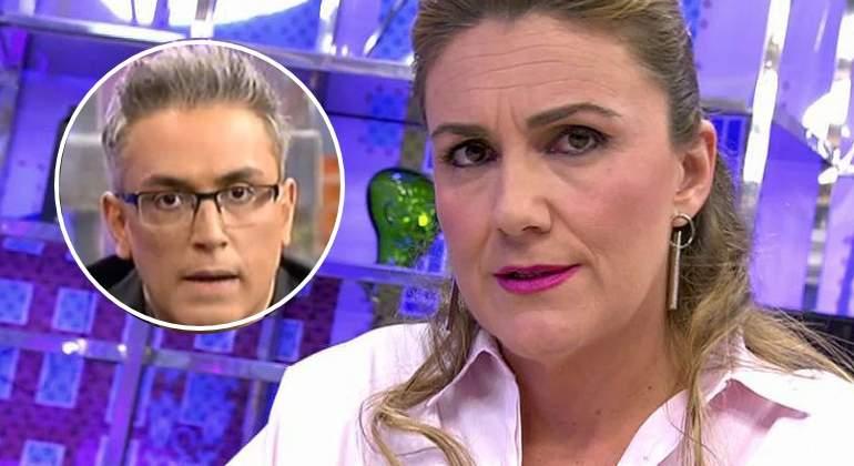 El picante desprecio de Carlota Corredera a Kiko Hernández hace estallar 'Sálvame'