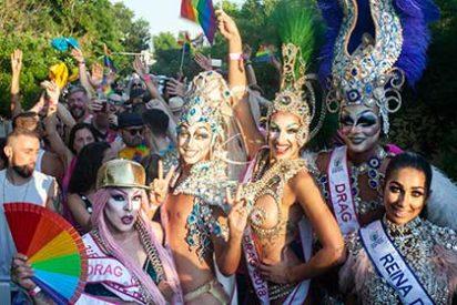 El Carnaval de Las Palmas de Gran Canaria triunfa en el desfile del Orgullo LGTBI