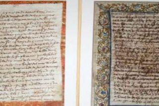 """La Guardia Civil halla dos cartas que Santa Teresa escribió a su """"otro amor"""""""