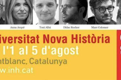 """Premio al escudero del sistema: El cómico de TV3 que llamó """"mala puta"""" a Arrimadas ponente en una jornada sobre historia catalana"""