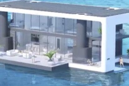 Así se hacen las impresionantes casas flotantes de Florida