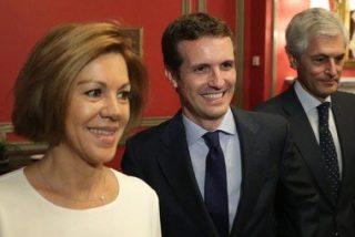 """María Dolores Cospedal ve en Pablo Casado una """"magnífica opción"""" para el PP"""