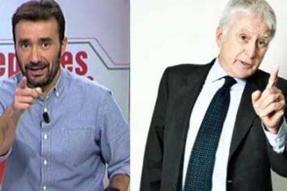 Juanma Castaño no disimula y reconoce en un irónico tuit que su relación con Vasile y Mediaset ha terminado fatal