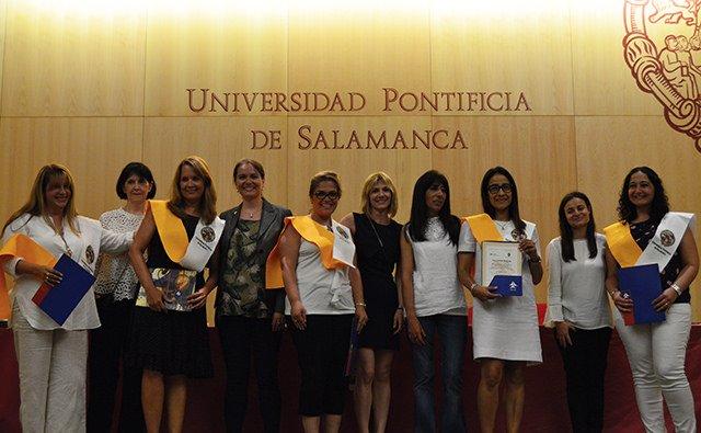 Ceremonia de graduación del Máster Internacional UPSA-FIDESCU