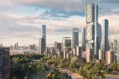 'Nuevo Norte': Madrid tendrá otros tres rascacielos, uno de ellos el más alto de España