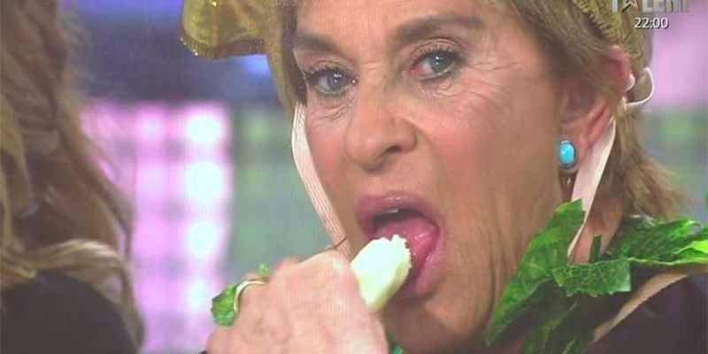 'Sálvame': Chelo García Cortes tiene el record de haber hecho la mamada más cara de la Historia