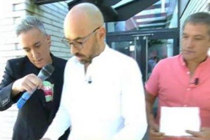 La Policía se persona en Telecinco para entregar a Gustavo González y Diego Arrabal una citación de Mariló Montero