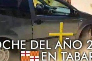 """El atropello a las cruces amarillas de Vic deja una mofa sensacional contra el independentismo: """"El Citroën C2, coche del año en Tabarnia"""""""