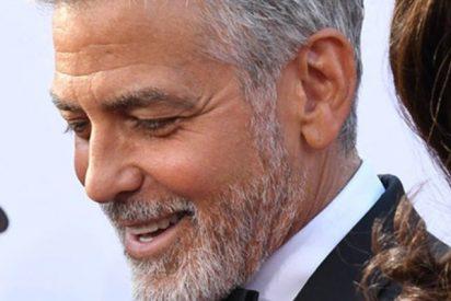 Este video capta el momento en que George Clooney se estrella con su motocicleta