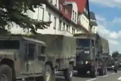 ¿Por qué se pasean por las calles de Alemania tanques de EE.UU.?