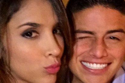 Daniela Ospina y James Rodríguez otra vez juntos