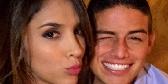 Las fotos de Daniela Ospina que animan a James Rodríguez a 'tirar un buen penalti'
