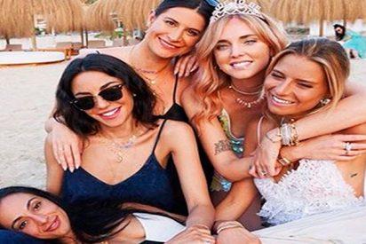 Así fue la super despedida de soltera de Chiara Ferragni en Ibiza