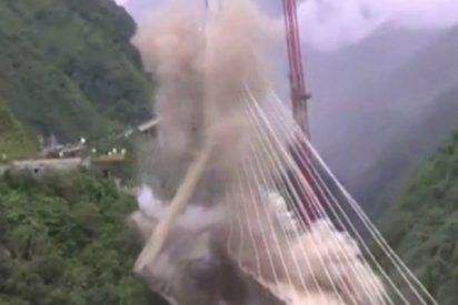Así destruyen este puente por errores de diseño que provocaron muertes